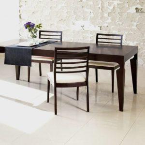 Stolička Esta ES 1, Brik Kremnica, masívna stolička , čalúnený sedák