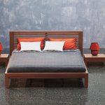 Posteľ a nočné stolíky Alica , Brik Kremnica , postele na mieru, dizajnové postee