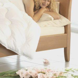 Elegantná posteľ Ferdinand, oblé prvky na postely , Brik Kremnica