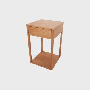 Nočný stolík SPLIT - zásuvkový, dizajnový nábytok na mieru Brik Kremnica
