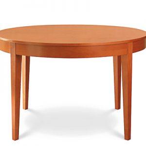 Retro ako aj moderný stôl Okrúhly z masívu, Brik Kremnica, nábyotk na mieru