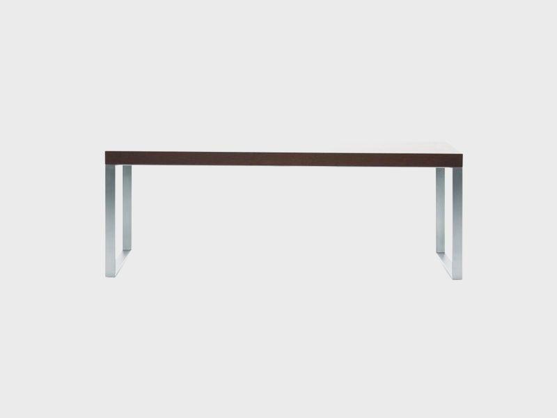 Pracovný stôl NERO 3 na nerezovej podnoži