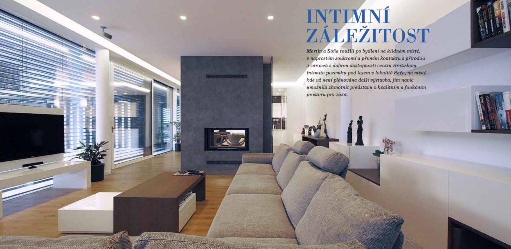Intimní záležitost – Architektura