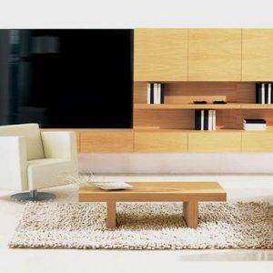 Obývacia zostava Flex, Brik kremnica, dub, moderná , na stenu ,