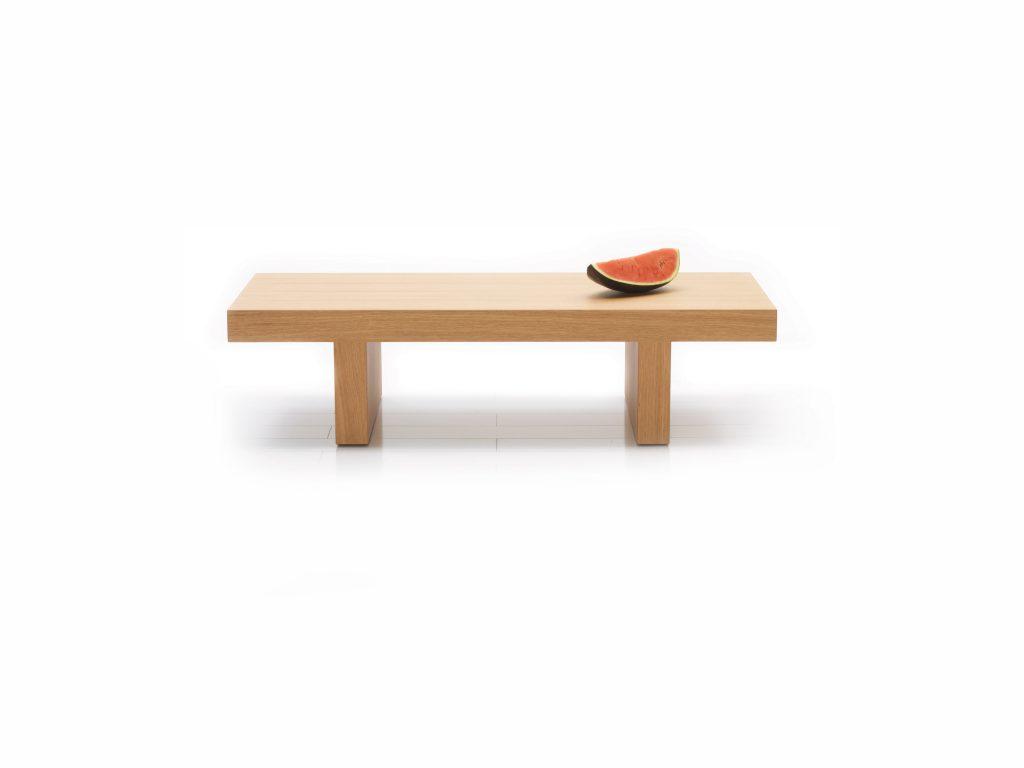 Konferenčný stolík KANT , dyhovaný, dubový - Brik kremnica