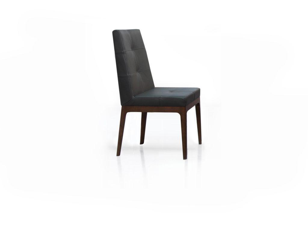 Čalúnená stolička PENTA s prešívaním , Brik Kremnica