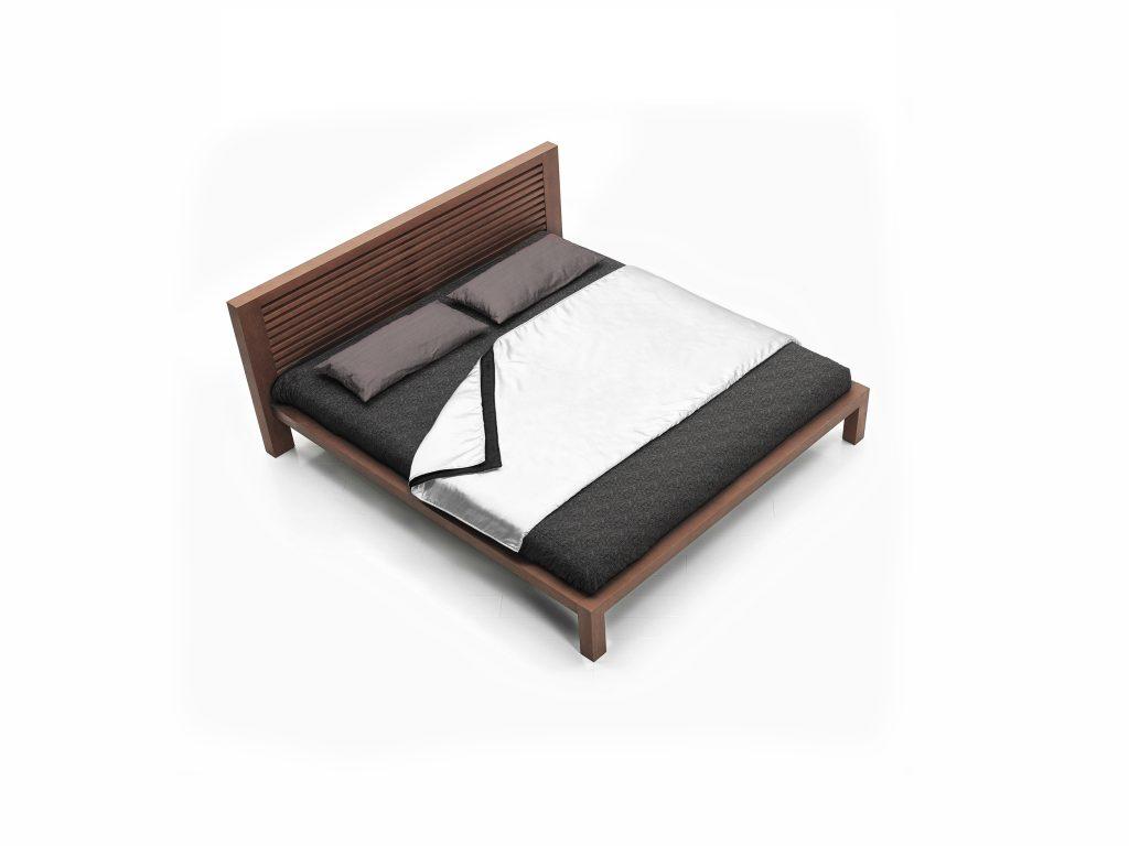 Dyhovadná posteľ Alica, dub, buk, Brik Kremnica