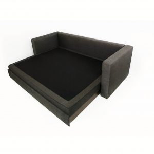 Rozkladacia sedačka Ela - plnohodnotné spanie pre dve osoby - Brik Kremnica - látková a kožená sedačka