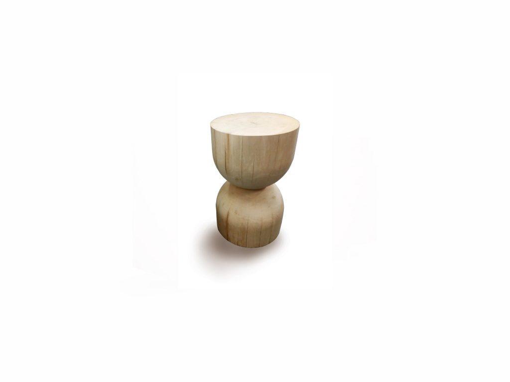Konferečný stolík HObit, masívny, dub, Brik Kremnica