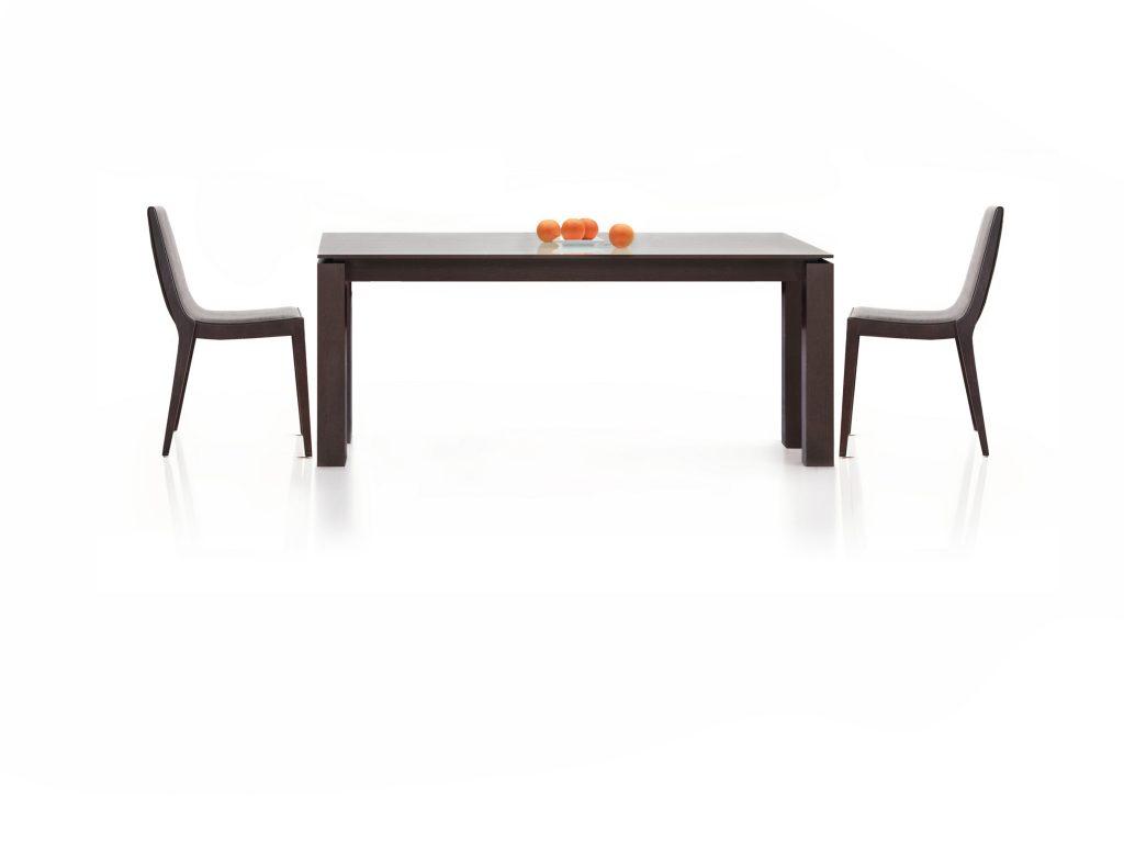 Jedálenský stôl LUPI, dub, buk, moderný, detailné prepracovanie - Brik Kremnica