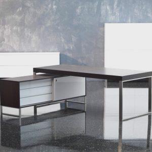 Pracovne na mieru, TECHNO, elegantná dizajnová pracovňa TECHNO od BRIK Kremnica