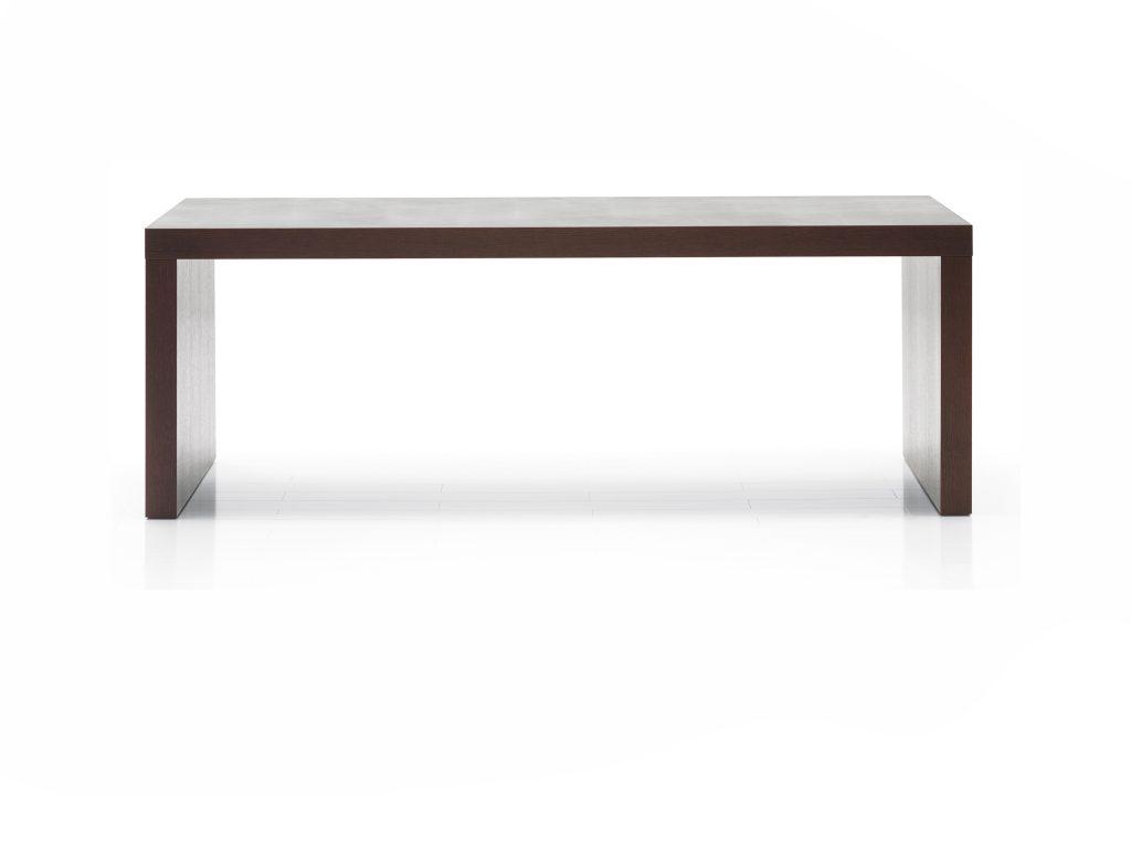 Jedálenský, Kancelársky stôl TRIS , dub, buk, Kremnica Brik