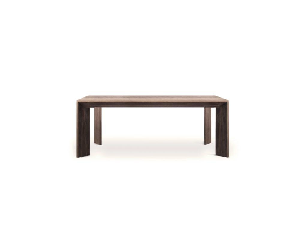 BRIK Kremnica, jedálenský stôl Sword so šikmými nohami , DUB, BUK
