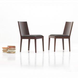 Stolička Andrea AS3, Brik Kremnica, dizajnová stolička , čalúnený sedák