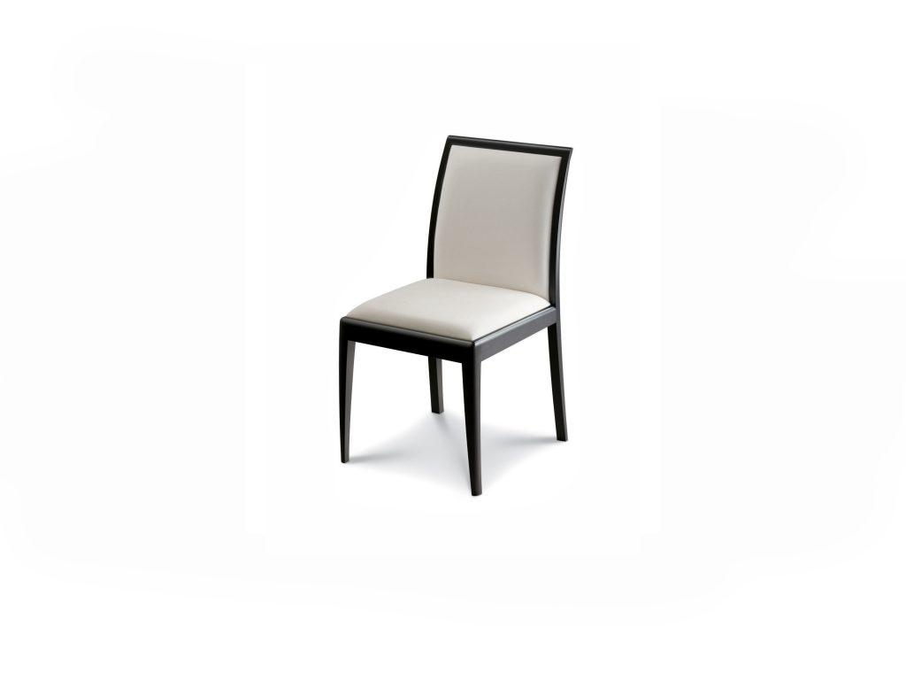 čalúnená stolička MICA, látková, kožená, buk, dub, dizajnová, BRIK Kremnica