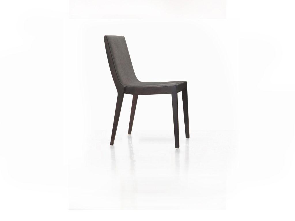Dizajnová čalúnená stolička Monte, nohy masív, dub, buk, BRIK Kremnica