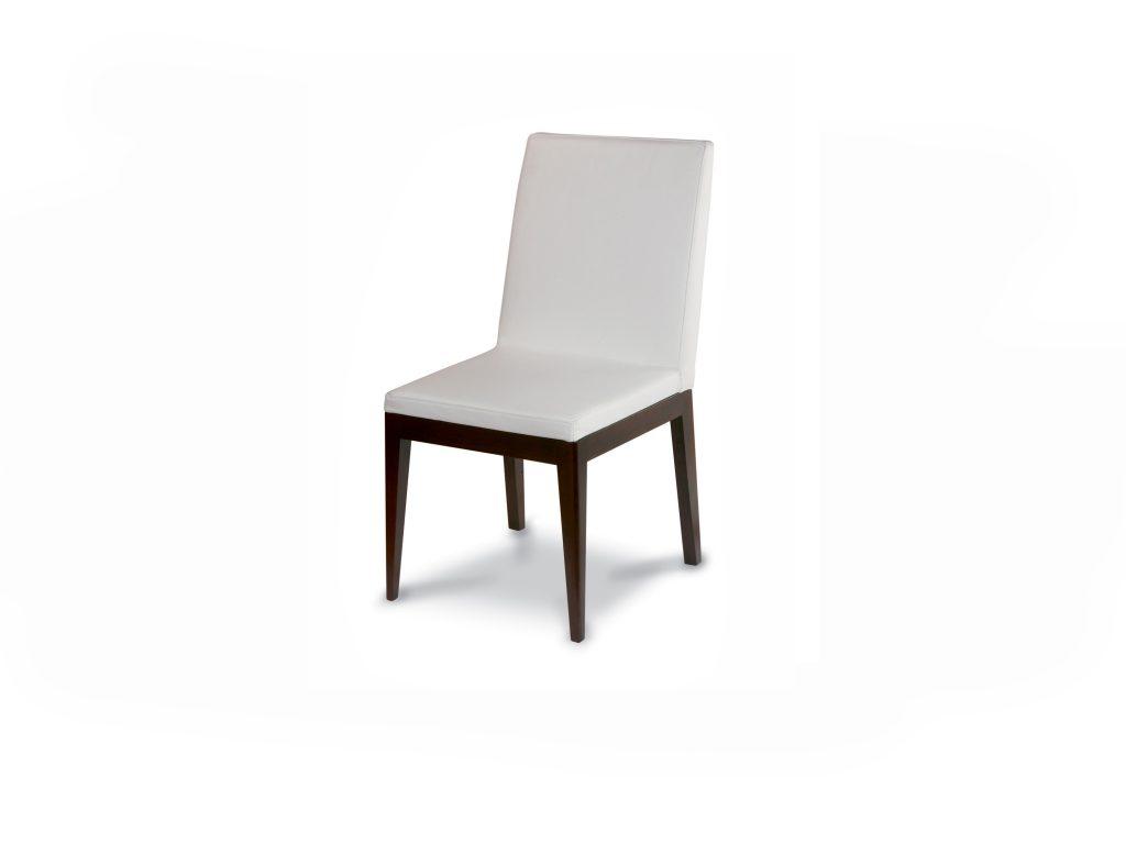 Čalúnená stolička OLGA, látková, kožená, dub, buk, Brik Kremnica