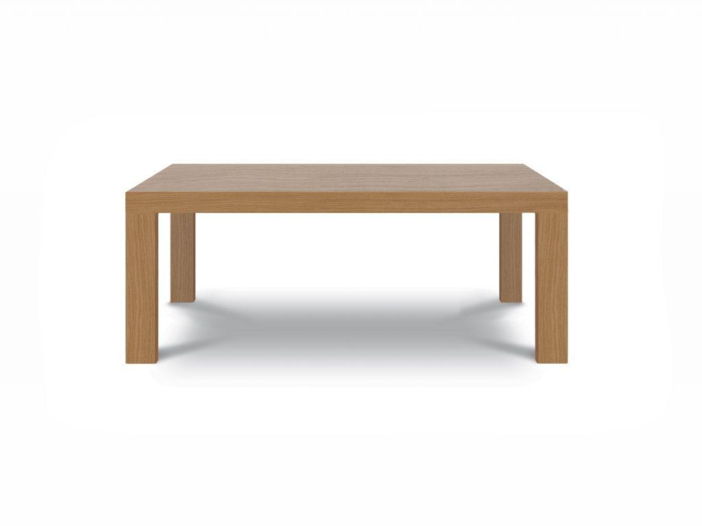 jedálenský stôl Platón, dub prírodný, jednoduchý elegatný stôl Brik Kremnica