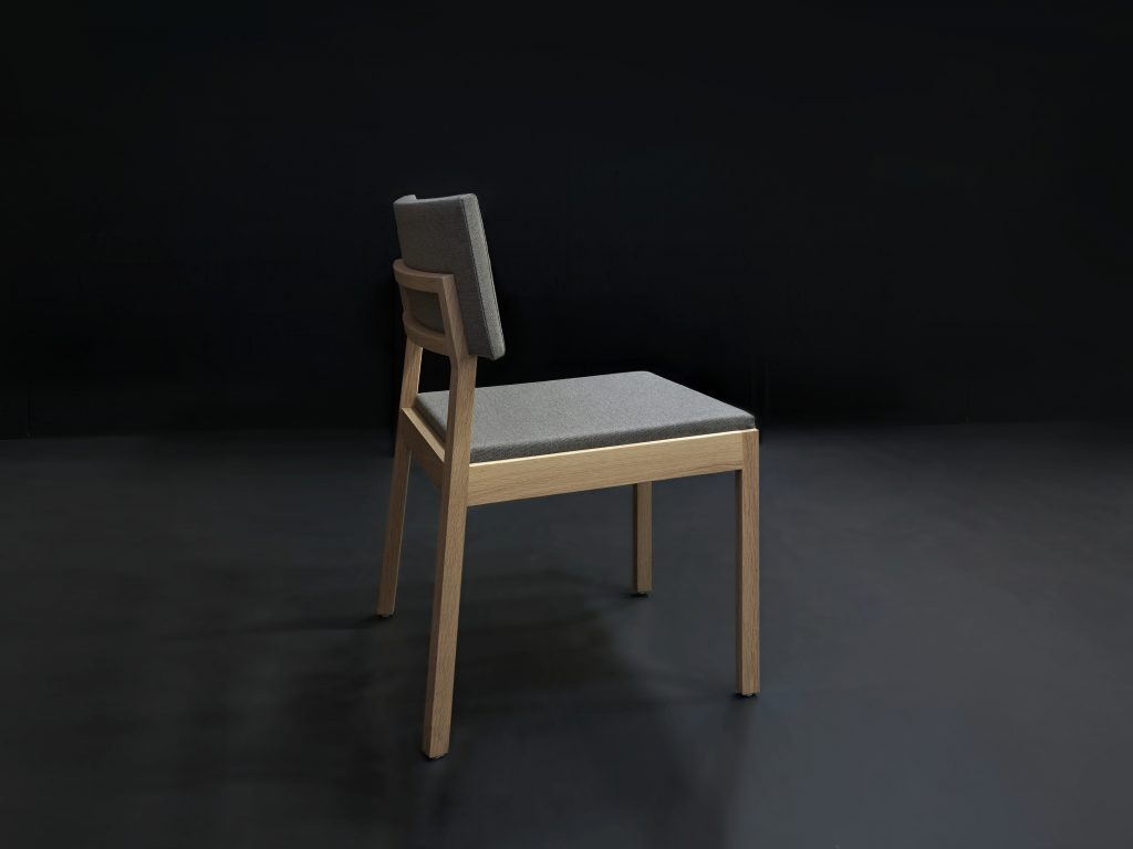 Moderná elegantná stolička MACA - Brik Kremnica