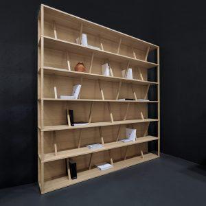 Knižnica Stos - novinka roku 2019 - nábytok a bývanie v Nitre